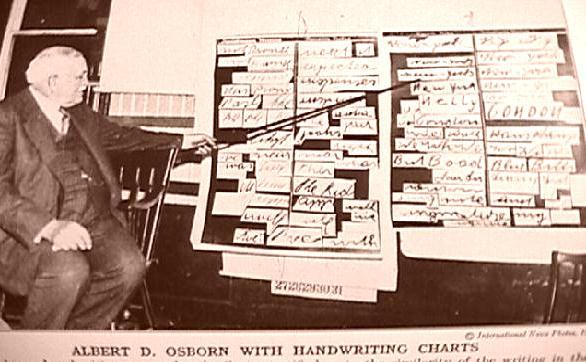 Rick marshall handwriting analysis
